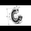 Hochgenauigkeits-Schrägkugellager B7001-C-T-P4S-UL