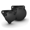 Triangular flanged housing series FNL