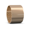 Wrapped bronze straight bushing requiring low-maintenance series PRM