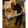 Bodenständer Metall RX-FSW 45x90x45cm weiss