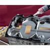 5910 schwarz - Flächendichtstoff für flexible Flansche, maschinell bearbeitete oder gegossene Oberflächen, Metall oder Kunsts