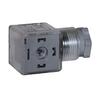 Plug with led 24RD AC/DC A2T1112BRBL (black)