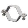 pipe clamp 304 stainless steel 12745 ISO1127