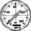 Manometer MA-27-160-M5-PSI 527405