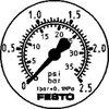 Flensmanometer FMA-50-2,5-1/4-EN 159598