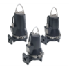 SEG series submersible pump with horizontal exhaust system and grinder