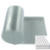 Courroie plate polyuréthane 72 Shore A transparent surface nervurée
