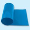 Courroie plate polyuréthane 80 Shore A bleu ciel lisse