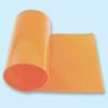 Courroie plate polyuréthane 84 Shore A orange lisse