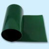 Courroie plate polyuréthane 88 Shore A verte lisse