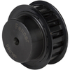 Timing belt pulley pilot bored section L-050