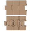 Kunststof scharnierbandketting recht lopend Flat top serie 828