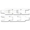 Kunststof kratten transportketting sideflexing serie met top plate CC600P-CC600P TAB