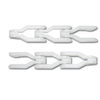 Kunststof krattentransportketting sideflexing serie CC1400-CC1400 TAB
