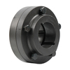 Rigid coupling RM type FF for attachment with clamping bush