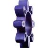 Rotex 19 Couronne /à dents KTR avec broche /à /épiler 98 Sh-A =T-PUR= lila Rotex 19 1
