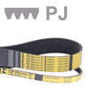 Ribbenband, Micro-V®, profiel PJ