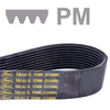 Ribbenband, Micro-V®, profiel PM