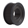 HTD Timing belt pulley for Taper Lock bushing section 14M belt width 40 cats iron