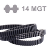 Double-sided Timing Belt Twin Power® PGGT2 TP-1610-14MGT2-115