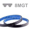 Courroie dentée Poly Chain® GT® Carbon™ profil 8MGT largeur 12 mm
