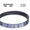 Timing belt PowerGrip® HTD® section 3M belt width 6 mm