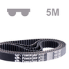 Timing belt PowerGrip® HTD® section 5M width 9 mm