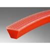 Polyurethaan V-riem, DEL/FLEX, rood, Totalgrip, 70 Shore A