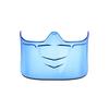 Bouclier buccal pour Superblast masques