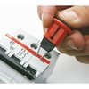 Lockout for miniature circuit-breakers