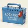 Group lock box with handle