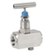 Needle valve fig. 222 stainless steel with vent screw internal thread BSP