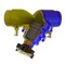 Inregelafsluiter fig. 2622E gietijzer groef