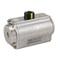 Pneumatische aandrijving fig. 79015 serie SR roestvaststaal enkelwerkend