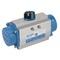 Pneumatische aandrijving fig. 7901 serie SR aluminium enkelwerkend