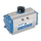 """Pneumatische aandrijving fig. 7902 serie DA40 aluminium maat topflens F04 afmeting vierkant DSQ11/14mm 1/4""""BSP"""