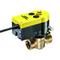 Plugkraan fig. KP686-00 brons DVGW elektrisch bediend buitendraad