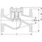 Terugslagklep fig. 101 gietijzer/brons PN16 DN80