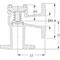 Terugslagklep fig. 102 gietijzer/brons haaks PN16 DN100