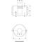 Zuigkorf fig. 1190 roestvaststaal