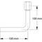 Manometer aansluitpijp fig. 1319 haaks binnendraad/stomplas