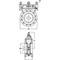 Line blind Ventil Fig. 1578 Stahl Flansch