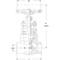 Globe valve fig. 1741S steel socket weld
