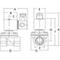 Magnetventil 2/2 Fig. 32325 Serie 238 Messing Innengewinde