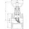Rayon CV afsluiter fig. 2431 gietijzer flens