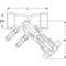 Inregelafsluiter fig. 2612E brons vul/aftap binnendraad