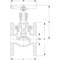 Klepafsluiter fig. 275 brons flens