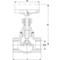 Absperrventil Fig. 3250 Edelstahl Innengewinde