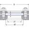 Kijk/controletoestel fig. 3890 staal inlas