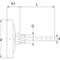 Bimetalthermometer Fig. 675 Edelstahl/Edelstahl Einsteck